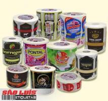 Fábrica de etiquetas bopp